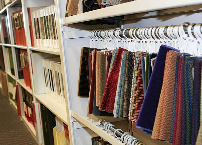 interior design library shelving